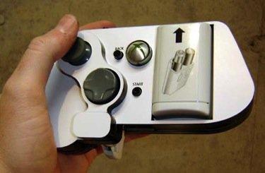 Mando de XBox 360 para una sola mano