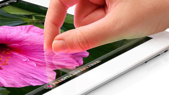 iPad con pantalla Retina de 2012