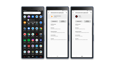 Sony Xperia 10 Plus Apps Desinstalar