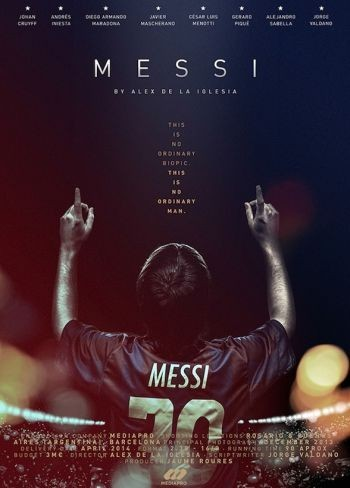 'Messi', cartel del documental dirigido por Álex de la Iglesia