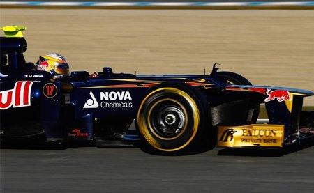 Jean-Eric Vergné es optimista con las posibilidades de Toro Rosso