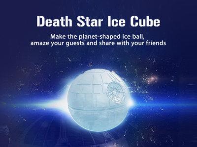 ¿Fan de Star Wars? Por 2,43 euros puedes enfriar tus bebidas con hielo en forma de Estrella de la Muerte