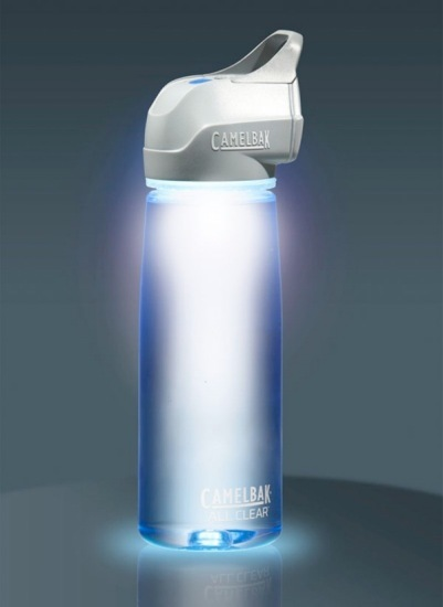 CamelBak's All Clear, un purificador para agua de diseño