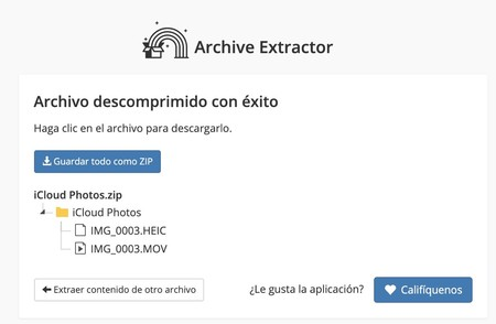 extract me