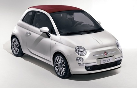 Fiat 500C, el Fiat 500 descapotable