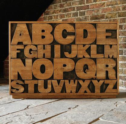 Mueble alfabético