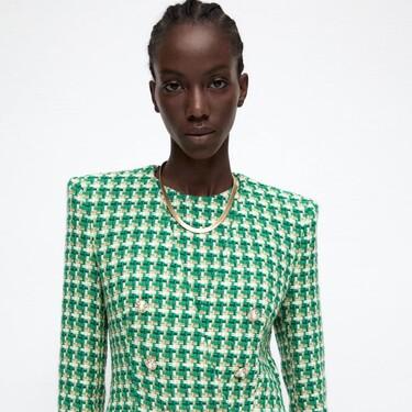 Zara tiene la colección de tweed más bonita del otoño (y sus blazers van a arrasar)