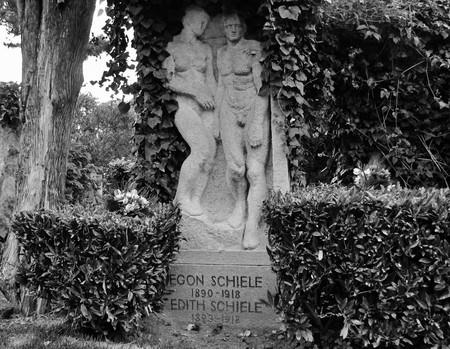 Tumba de Egon Schiele y Edith en Viena