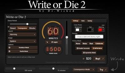 'Escribe o muere', una app para escritores indecisos