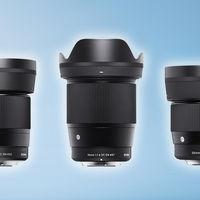 Sigma 16, 30 y 56 mm F1.4 DC DN, la triada de ópticas fijas para mirrorless de sensor recortado llega a la montura EF-M de Canon