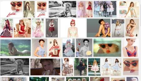 Esto es Lolita en una búsqueda de Google