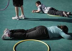 Programa de ejercicio físico infantil en el Hospital General de Valencia