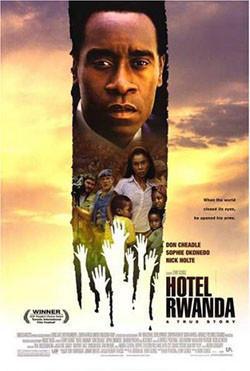 Hotel Rwanda, sesiones golfas y salas vacías