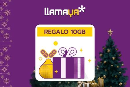 Llamaya también regala 10 GB en prepago por navidad
