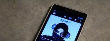 Sony Walkman NWZ-ZX1, toma de contacto