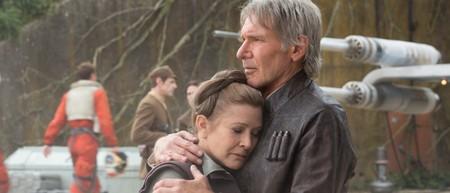 Fanáticos de toda la galaxia le hacen un sentido homenaje a Carrie Fisher