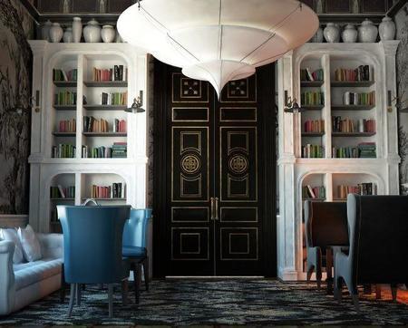 Cotton Hoouse Biblioteca