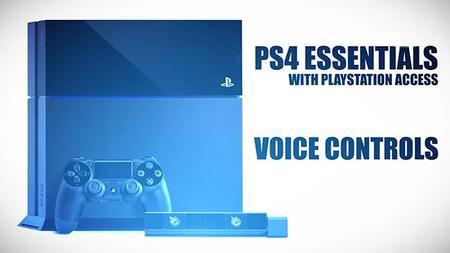 Algunos comandos de voz en PS4