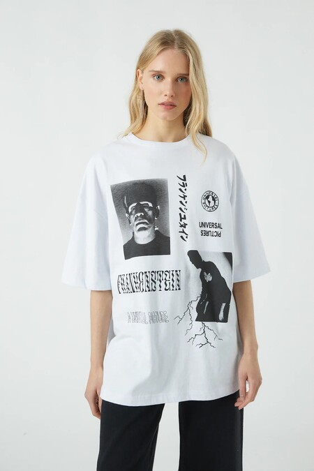 Pull Bear Halloween 2020 Camiseta 09