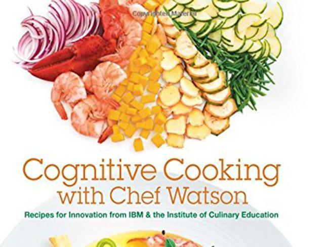 Un libro de cocina con recetas creadas por una máquina