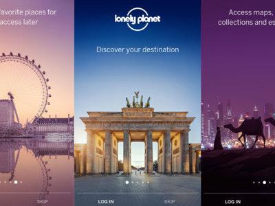 Planea los viajes del año con la aplicación oficial de Lonely Planet