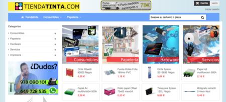 TiendaTinta.com es otro negocio online de Castelserás