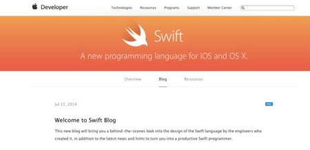 Apple lanza un blog sobre Swift para compartir información y noticias sobre el lenguaje