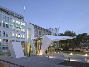 Espacios que inspiran: la espectacular sede de Hanse Merkur en Hamburgo