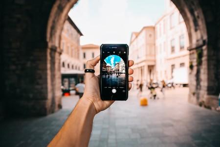 iPhone en foto