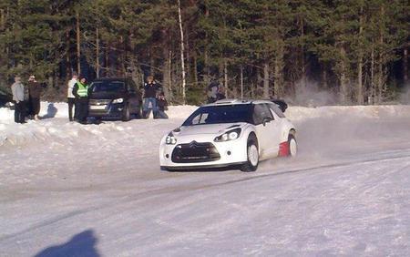 Petter Solberg ya tiene el Citroën DS3 WRC en su taller