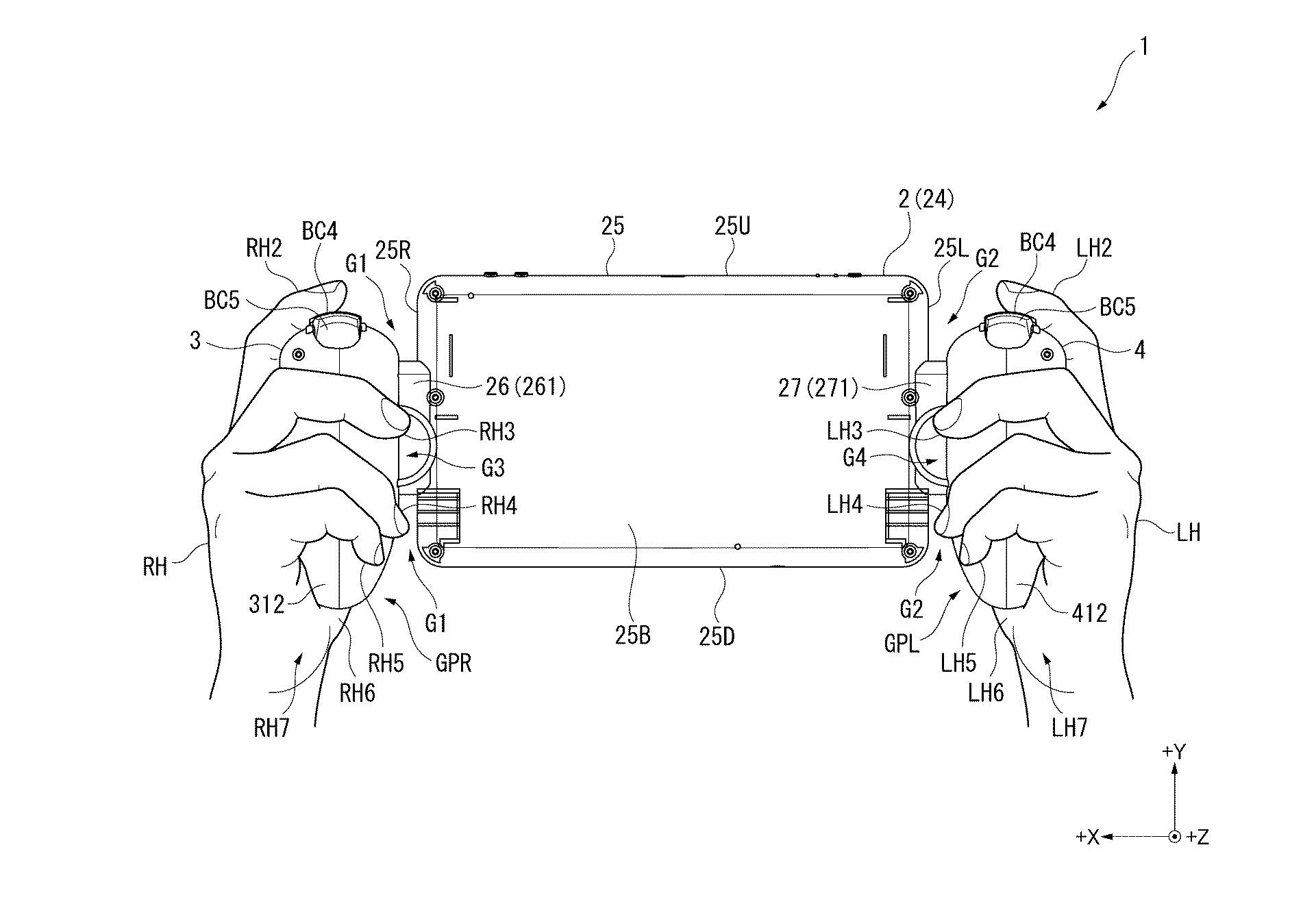 Foto de Sony Patente Portátil Nintendo Switch (8/8)