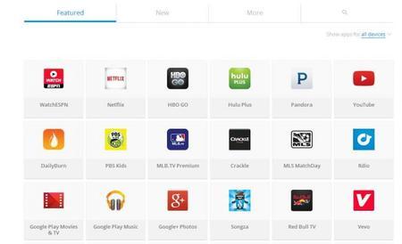 Google renueva el sitio de Chromecast, ahora muestra aplicaciones