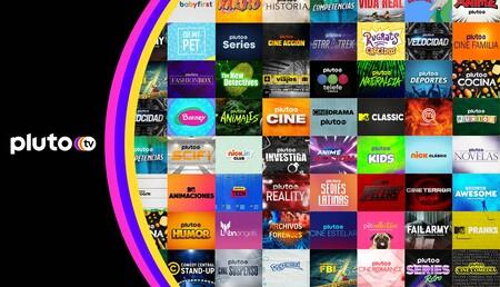 Pluto TV 60 canales en México