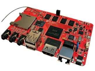 Hackberry (sin el Pi), una competidora de la Raspberry Pi