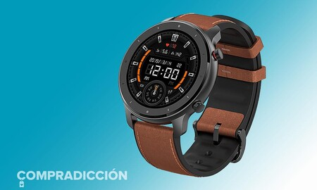 Hazte con un completo smartwatch como el Amazfit GTR por 85 euros sólo hoy en Amazon