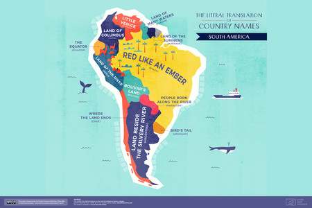 Significado Nombre America Sur