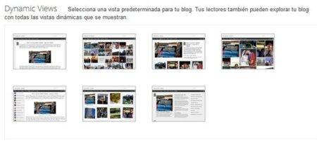 Blogger añade vistas dinámicas para mejorar la visualización