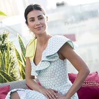 Sassa de Osma sorprende en Madrid con un vestido de lo más flamenco, volantes y lunares incluidos firmado por Delpozo