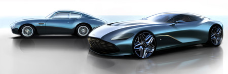 Aston Martin DBS GT Zagato, teaser