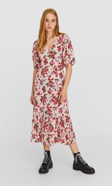 Vestido Floral Largo 02