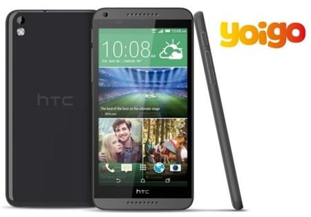 Precios HTC Desire 816 con Yoigo y comparativa con Orange