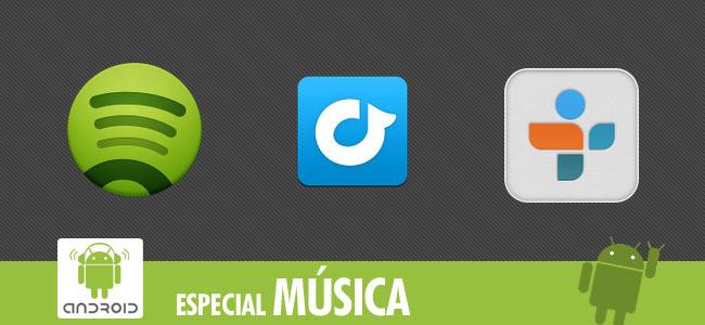 Mejores aplicaciones Android para escuchar música en streaming