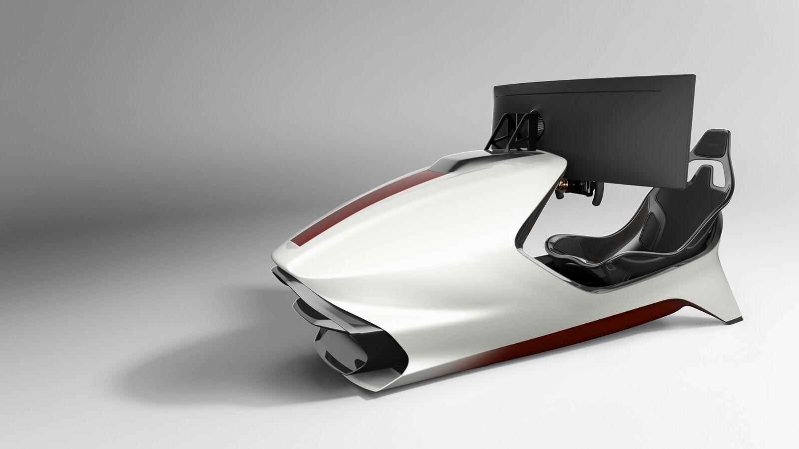 Foto de Simulador Aston Martin AMR-C01 (9/19)