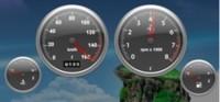 Dashboard Gauges: Widgets para monitorizar tu Mac, como si fuera un coche
