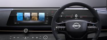 Nissan prefiere pantallas horizontales y esta es la razón