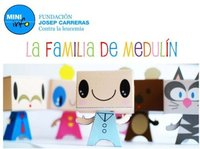La familia de Medulín, muñecos recortables por la leucemia