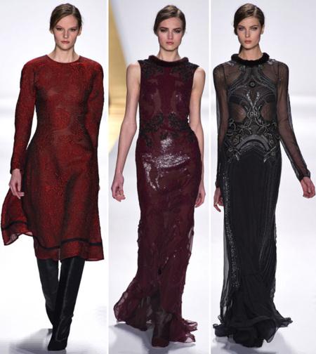 La alfombra roja frente al estilo de calle informal, J. Mendel y Elizabeth and James en la Semana de la Moda de Nueva York