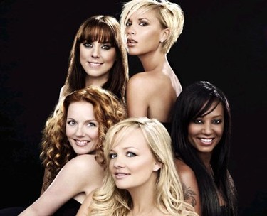Las Spice Girls derrotan a Led Zeppelin y a The Verve