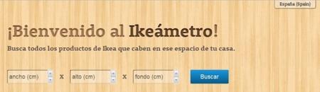 Ikeameter: aplicación para saber qué mueble de Ikea cabe en ese espacio de la casa