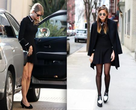 vestido negro taylor swift